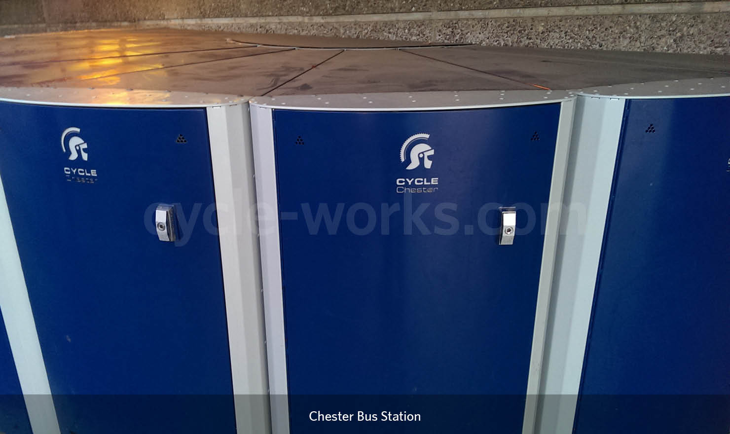 Chester Bus Station Bike Locker Hire