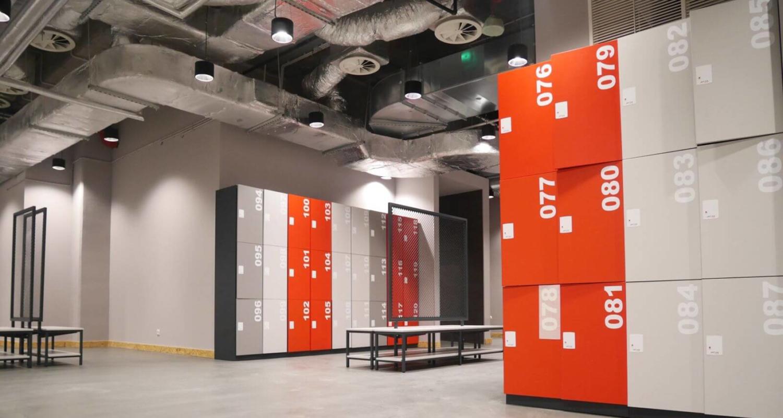 ATEPAA Gym Changing Room Lockers