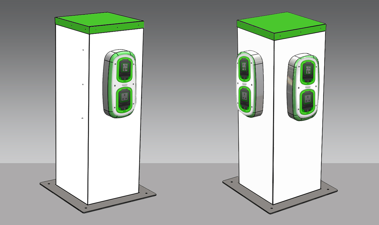 EV Charging Point for E-Bikes and E-Scooters