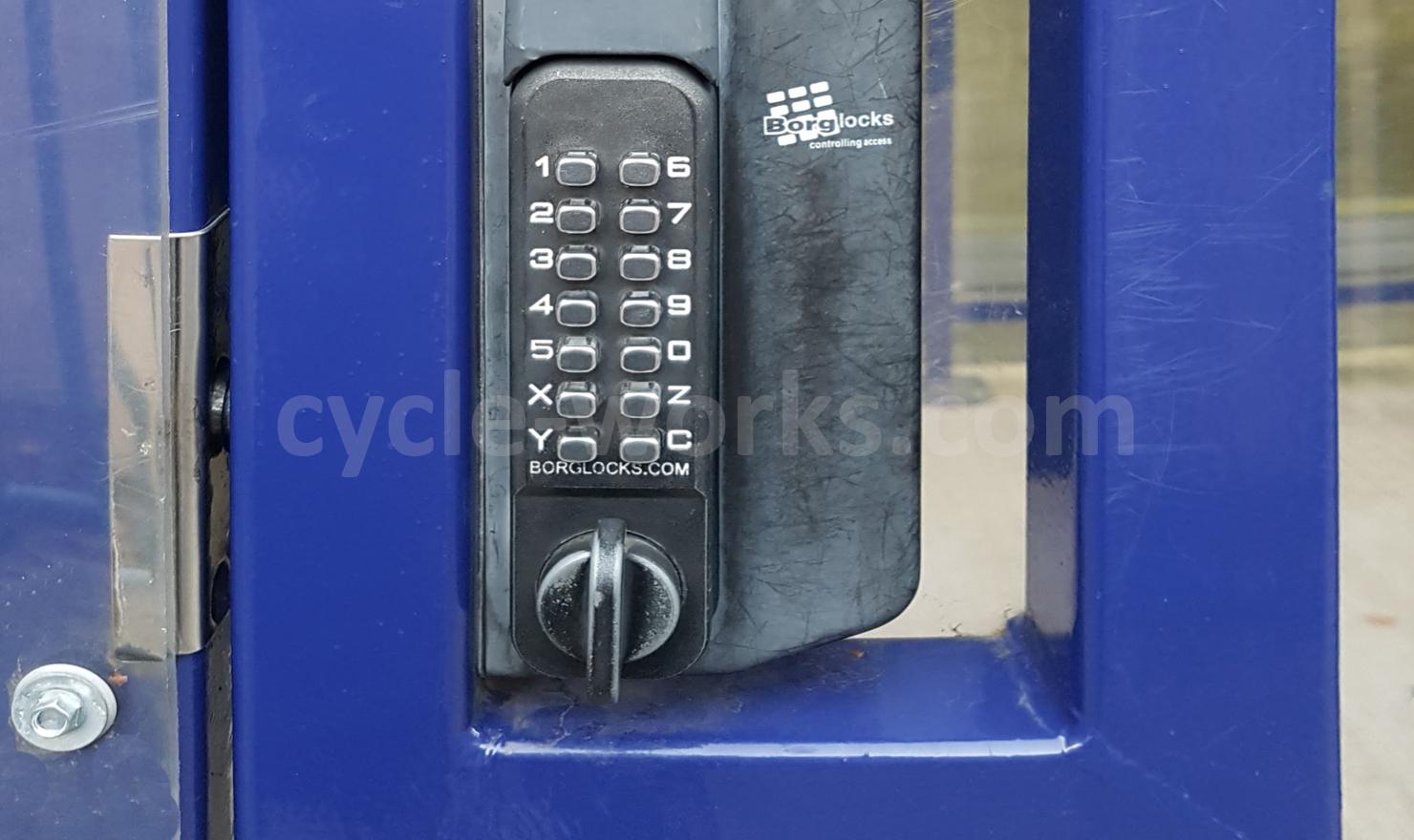 MS Amlin Avon Compound Pin Code Lock