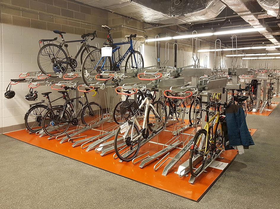 The Post Building - Josta 2-Tier Bicycle Racks