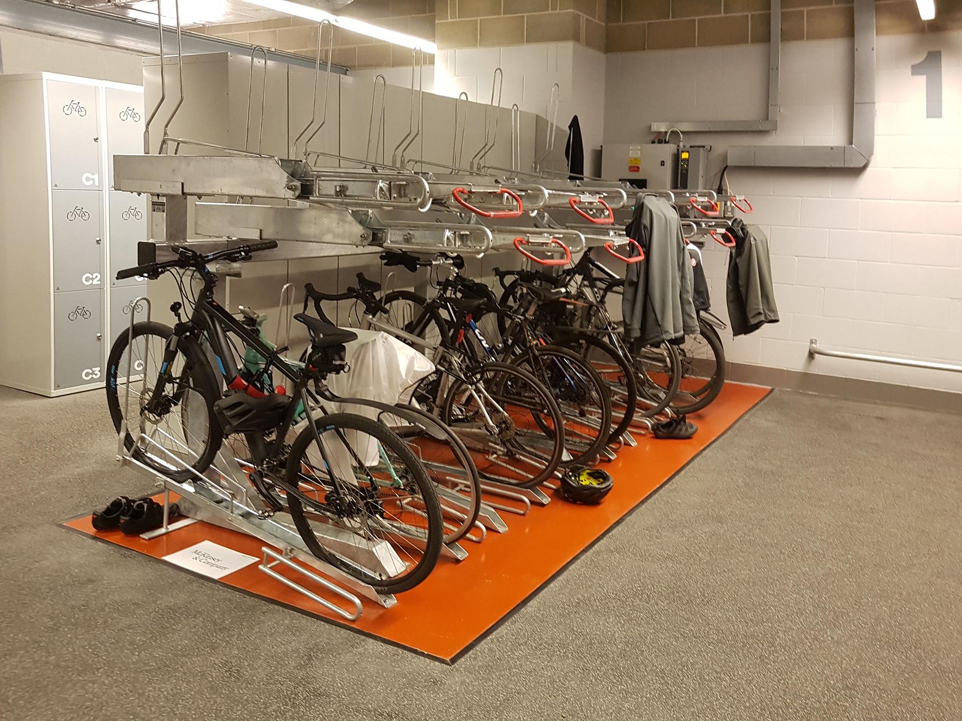 The Post Building - Josta 2-Tier Bike Racks
