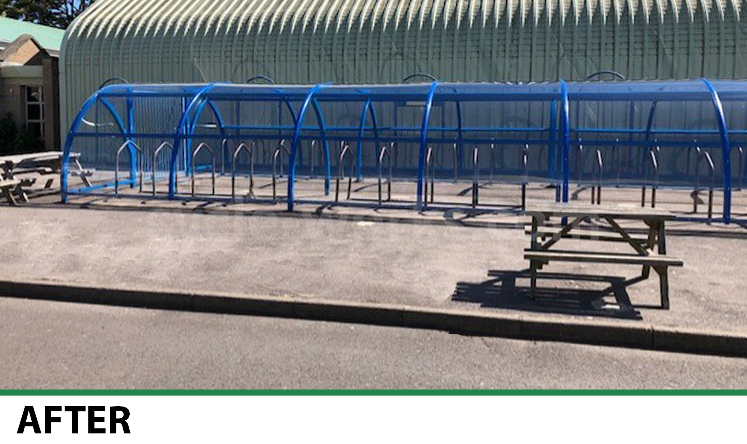 Cycle Shelter Refurbishment