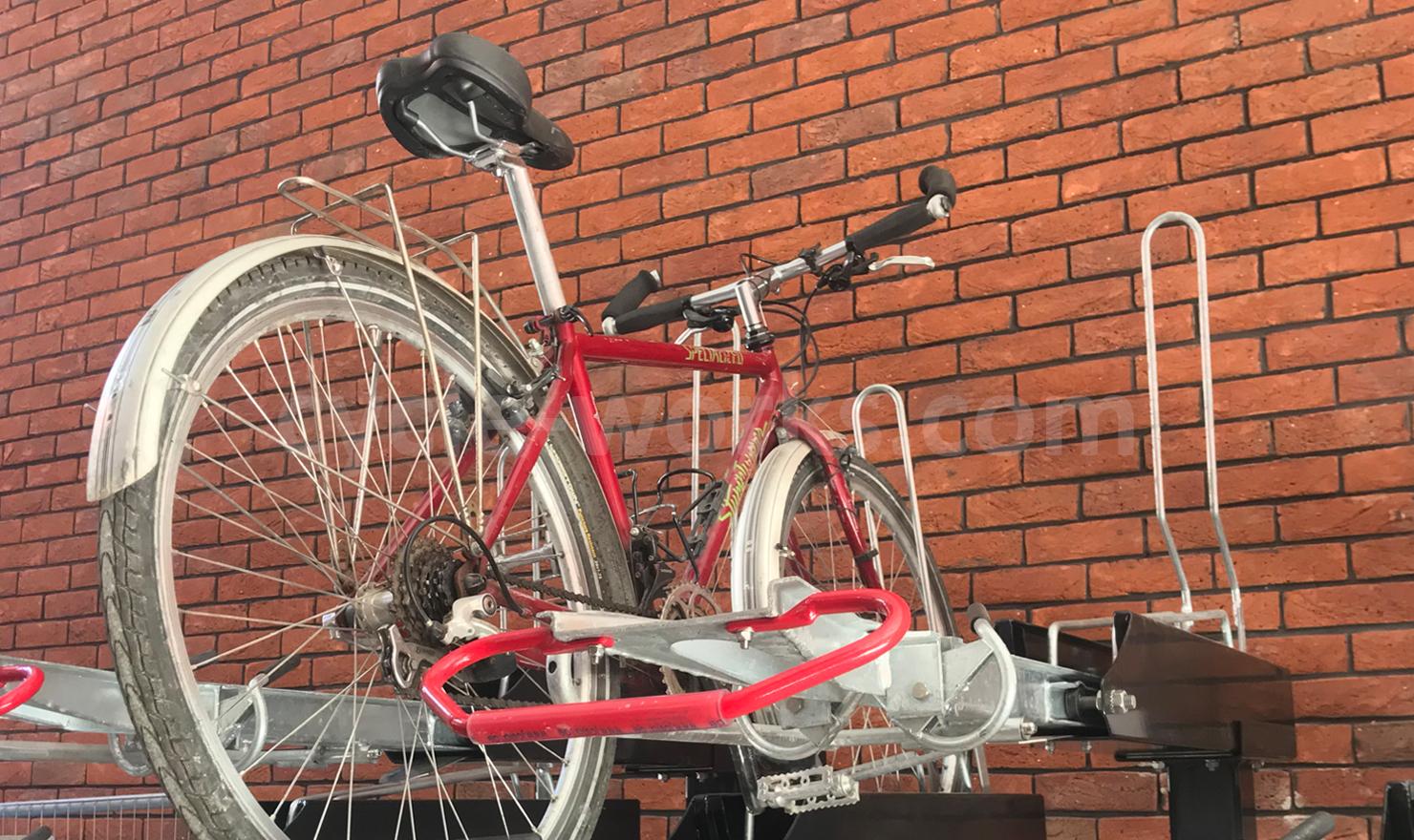 Josta 2 Tier Cycle Parking